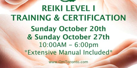 Reiki Level I: Training & Certification  tickets