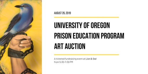 UO Prison Education Program: Art Auction (Postponed)