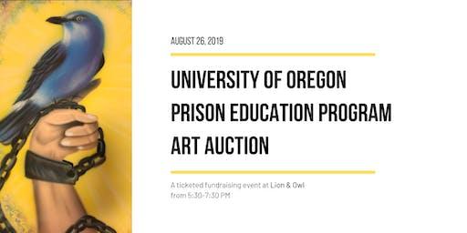 UO Prison Education Program: Art Auction