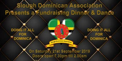 The Slough Dominican Association Fund Raising Dinner & Dance @ Slough Cricket Club, Slough. Sat 21st September 2019