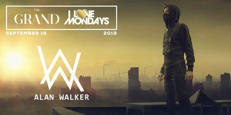 I Love Mondays feat. Alan Walker 9.16.19 tickets
