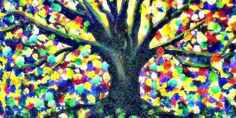 Paint Wine Denver Tree of Life Sat Sept 28th 3pm $35 tickets