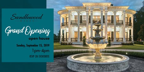 Sandlewood Manor: Grand Opening-Open House! tickets