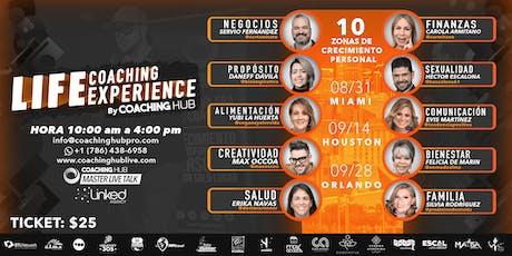 Master Live Talk - 12va Edición - Life Coaching Experience tickets