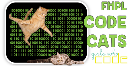Girls Who Code at FHPL: CODE CATS! tickets