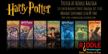 Harry Potter (Books) Trivia at Riddle Raleigh tickets