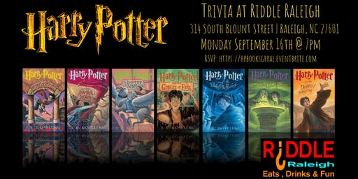 Harry Potter (Books) Trivia at Riddle Raleigh