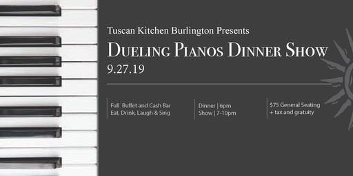 Dueling Pianos at Tuscan Kitchen, Burlington MA