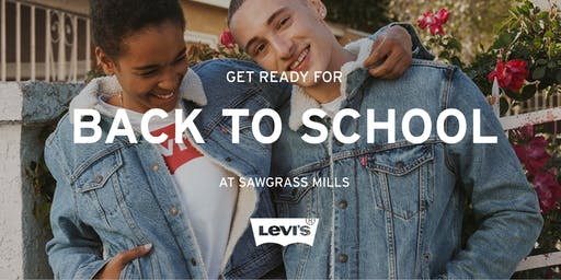 Levi's® Back to School Event