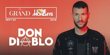 I Love Mondays feat. Don Diablo 9.30.19 tickets