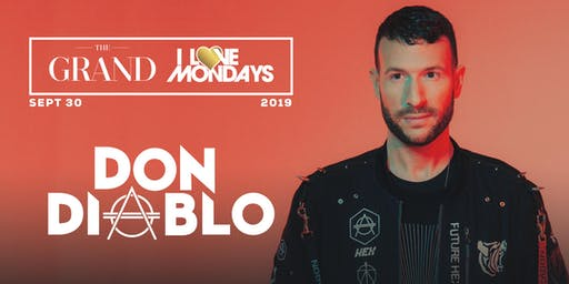 [POSTPONED] I Love Mondays feat. Don Diablo 9.30.19