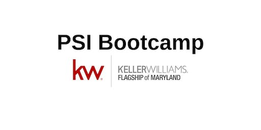 August PSI Bootcamp- Real Estate Career