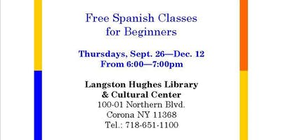 Free Spanish Classes for Beginners