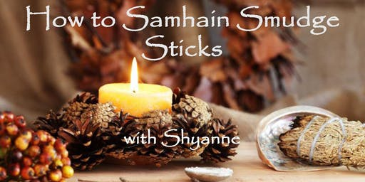 Samhain Smudge Packs with Shyanne at Healing Hands Fall Semester