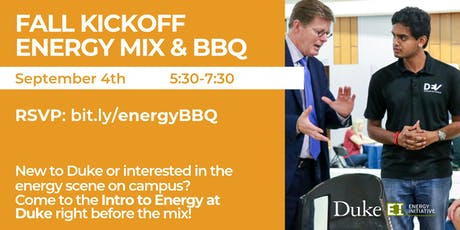 Fall Kickoff Energy Mix & BBQ, Sept. 4, 2019 tickets