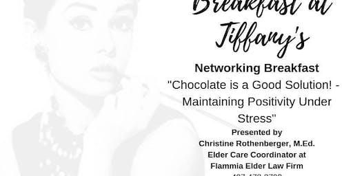 Breakfast at Tiffany's Networking Breakfast