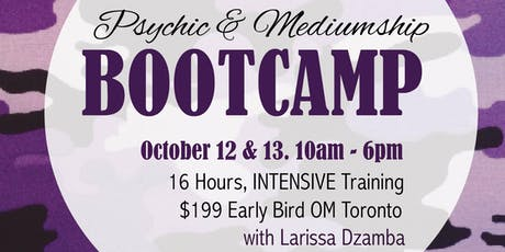 Psychic & Mediumship Bootcamp tickets