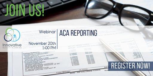 2019 ACA Reporting Webinar 11/20/19