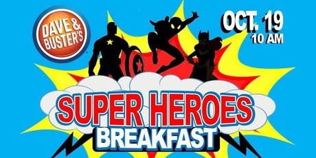 Super Heroes Breakfast tickets