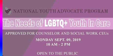 The Needs of LGBTQ+ Youth In Care tickets