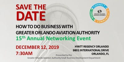 How to do Business with GOAA - 15th Annual Networking Event