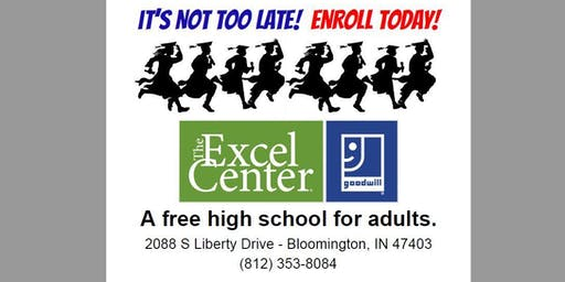STUDENT ORIENTATION for The Excel Center Bloomington (FREE PIZZA!)