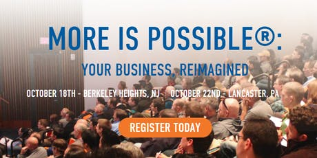 MORE IS POSSIBLE®: YOUR BUSINESS, REIMAGINED tickets