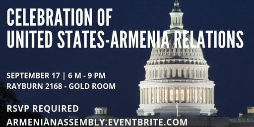 Celebration of U.S.-Armenia Relations