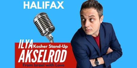 Ilya Akselrod  StandUp in Halifax on  September 30 tickets