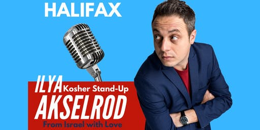 Ilya Akselrod  StandUp in Halifax on  September 30