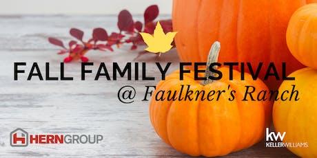 Fall Family Festival 2019 tickets