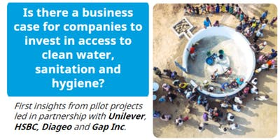 Is there a business case for companies to invest in access to WASH?