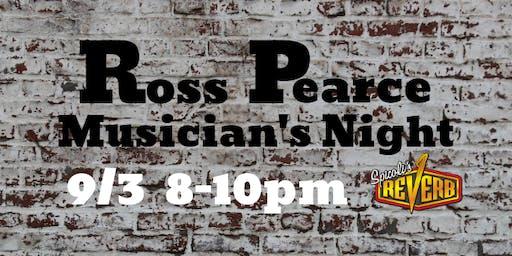Ross Pearce Musician's Night