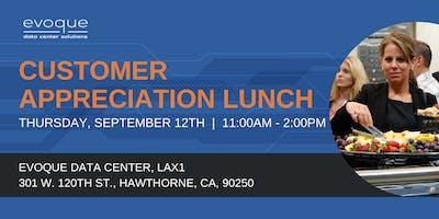 Customer Appreciation Lunch - Hawthorne