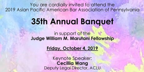 APABA-PA 35th Anniversary Banquet tickets