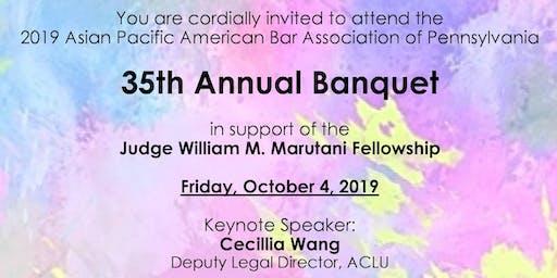 APABA-PA 35th Anniversary Banquet