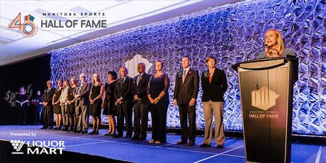 Manitoba Sports Hall of Fame 2019 Induction Ceremony presented by Manitoba Liquor Mart tickets