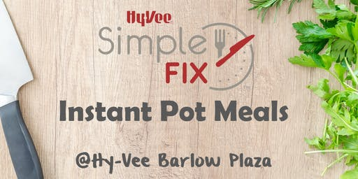 Simple Fix TO GO: Instant Pot Meals