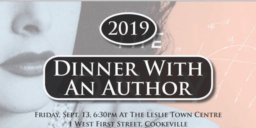 PCLF Dinner With an Author