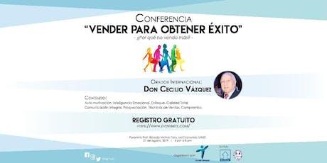 """Conferencia """"VENDER PARA OBTENER ÉXITO -¿Por qué no vendo más?"""" tickets"""