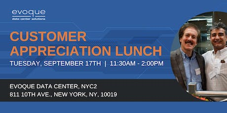 Customer Appreciation Lunch - New York tickets