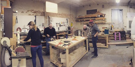 Intro to Woodworking tickets
