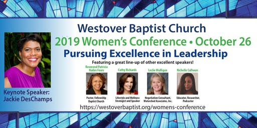 2019 Westover Baptist Church Women's Conference