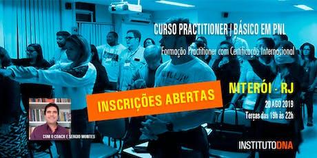 CURSO PRACTITIONER / BÁSICO DE PNL - TURMA 9 - NITERÓI. ingressos