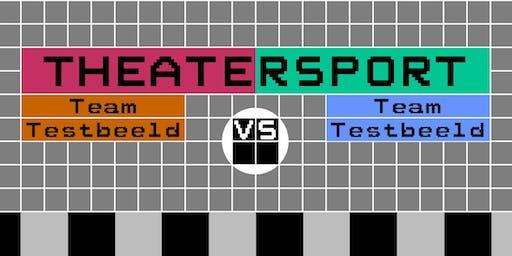 Theatersportwedstrijd: Team Testbeeld versus Team Testbeeld