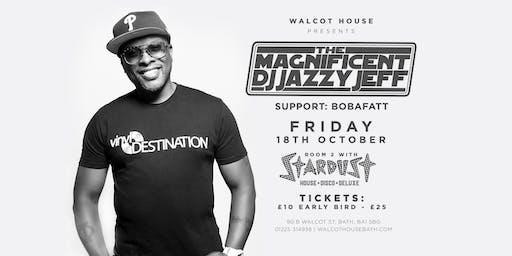 The Magnificent DJ JAZZY JEFF Live | Bath