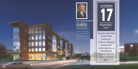 The Grand Opening of Virginia Western's new STEM Building  tickets