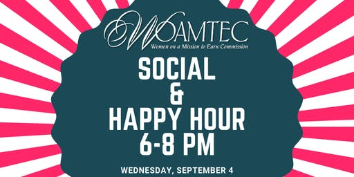 WOAMTEC Multi-Chapter Social & Happy Hour
