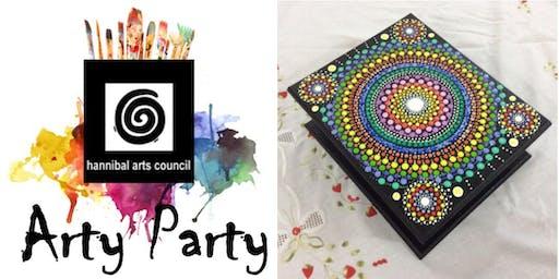 ARTY PARTY: Mandala Keepsake Box
