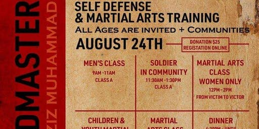 Self Defense and Martial Arts Training with the GM